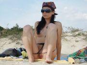 Voyeur y Sexo en la Playa