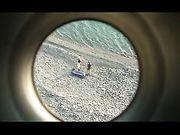 Pareja amateur hace que el sexo en la playa
