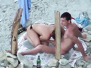 Una mamada en la playa